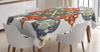 Turkish Ottoman Arabic Tablecloth
