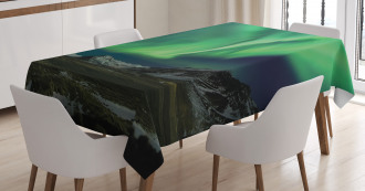 Polaris Mountain Tablecloth