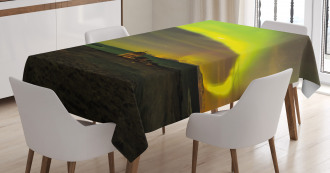 Abandoned House Tablecloth