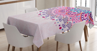 Ornamental Figure Tablecloth