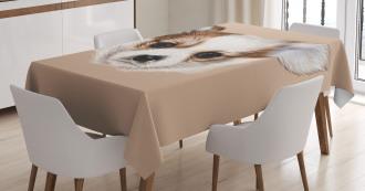 Cute Little Furry Friend Tablecloth