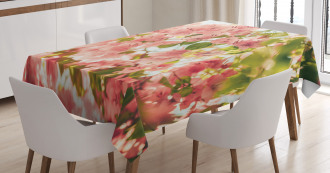 Sunny Summer Blossoms Tablecloth