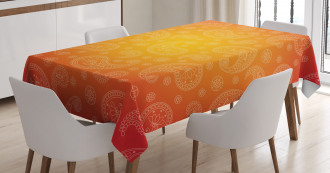 Ombre Floral Tablecloth