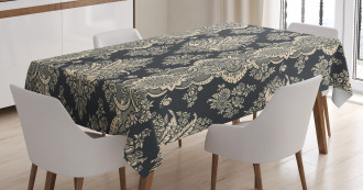 Victorian Baroque Style Tablecloth