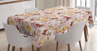 Madam Butterfly Theme Tablecloth
