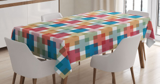 Wall or Floor Squares Tablecloth