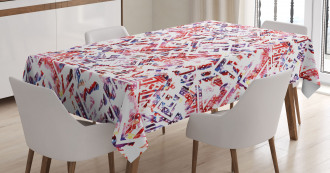 Ethnic and Tribe Motifs Tablecloth