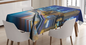 View of New York City Tablecloth