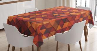 Retro Pattern Triangle Tablecloth