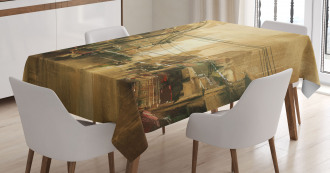 City Street View Tablecloth