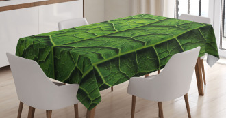Forest Tree Leaf Texture Tablecloth