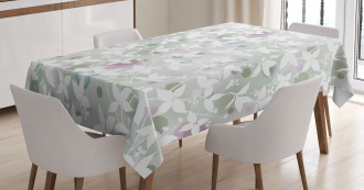Vintage Seamless Pattern Tablecloth
