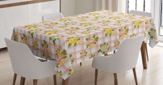 Colorful Roses Tablecloth