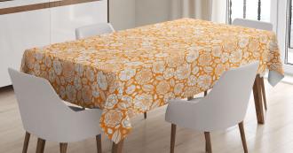 Summer Garden Floral Tablecloth