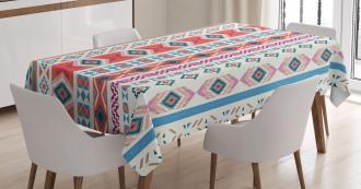 Tribal Motifs Tablecloth