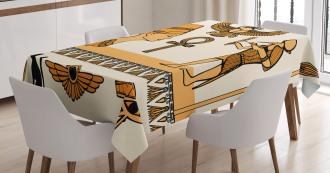 Ancient Symbols Set Tablecloth