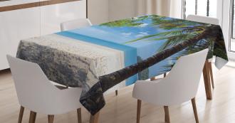 Tropical Beach Ocean Tablecloth