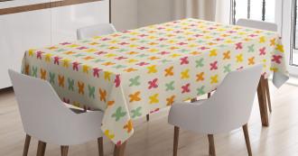 Vivid Toned Butterflies Tablecloth
