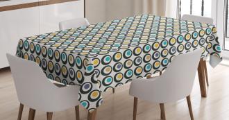 Bold Circles Polka Dots Tablecloth