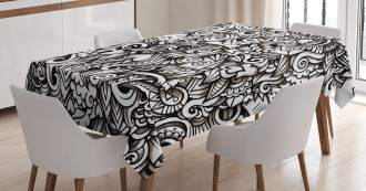 Winged Hearts Tablecloth