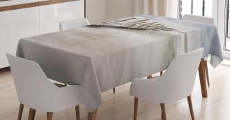 Groyne Zingst Germany Tablecloth