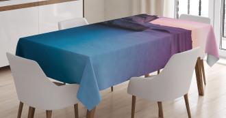 Bonsai Rock Lake Tahoe Tablecloth