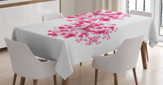 Abstract Dandelion Artwork Tablecloth