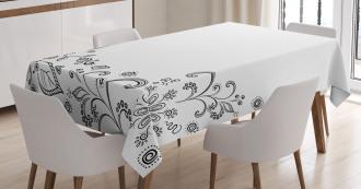Botanical Sketchy Bouquet Tablecloth