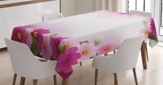 Romantic Daisies Framework Tablecloth