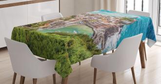 Vernezza Italy Tablecloth
