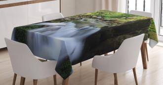 National Park Cascade Tablecloth