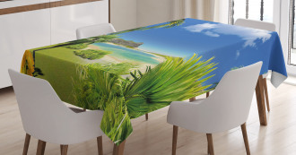Paradise Palms Island Tablecloth
