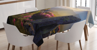 Sunrise Rhodonderons Tablecloth