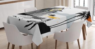 Fishing Village Malay Tablecloth