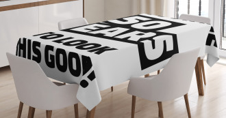 Funny Happy Face Tablecloth