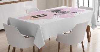 Grunge Seventeen Tablecloth