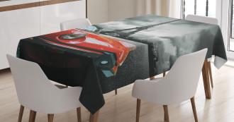 Romantic City Paris Tablecloth