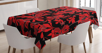 Oceanic Island Flower Tablecloth