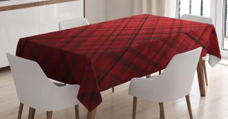 Scottish Kilt Pattern Tablecloth