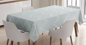 Stripes Chevron Lines Tablecloth