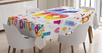 Cute Teen Celebration Tablecloth