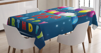 Sweet Sixteen Party Tablecloth