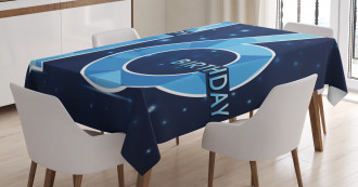 Greeting Age Sky Tablecloth