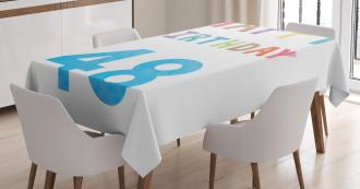 New Age Celebration Tablecloth