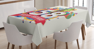 Geometric Wishes Tablecloth