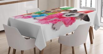 Birthday Terrier Tablecloth