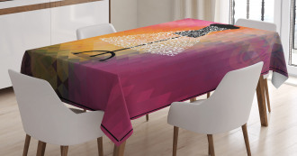 Abstract Blur Tablecloth