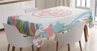 Engagement Theme Tablecloth