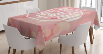 Engagement Card Tablecloth