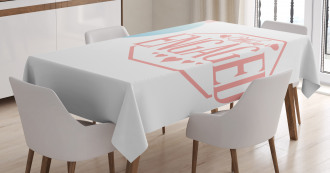 Engagement Text Tablecloth